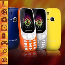 Original VKworld Z3310 Elder Phone 2.4 inch 3D Screen 1450mAh Battery Class K Amplifier Dual SIM FM Torch Bluetooth