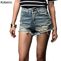 Fashion Summer Style 2017 Women Jeans Shorts Plus Size XS-4XL High Waist Frayed Shorts Sexy Female Casual Short Feminino