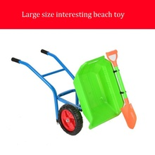 New Interesting Large Size Thick Sea Beach Toy Baby Stroller For Children With Shovel Dumpers