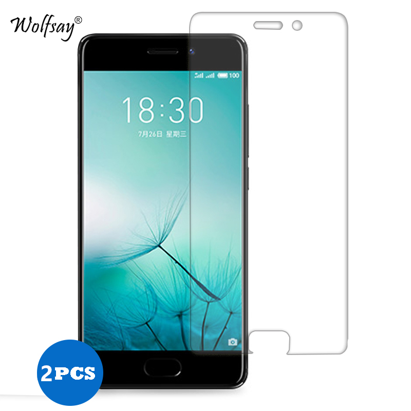 2pcs Glass Meizu Pro 7 Plus Screen Protector Tempered Glass sFor Meizu Pro 7 Plus Glass Meizu Pro 7 Plus Protective Film Wolfsay