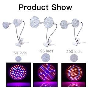 Image 4 - LED Grow light Full Spectrum Fitolamp Hydroponics Phyto lamp Phyto Lamp For Vegetable Flower Seedlings Plants Lighting