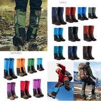 Outdoor Sport Waterproof Hiking Climbing Walking Boot Leggings Trekking Gators Snow Gaiters