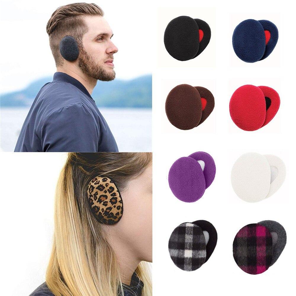 2019 NEW 1 Pair Adult Women Man Winter Earbags Bandless Ear Warmers Earmuffs Ear Cover 2.23