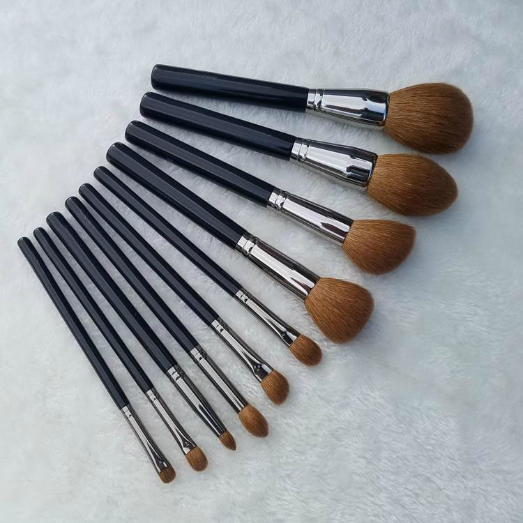 10pcs Professional Makeup Brushes Set Goat Synthetic Hair Face Powder Highlighter Blush Brush Cosmetic Tool Eyes Make Up Brush 32 pcs kit makeup brushes professional set cosmetic professional makeup brush set goat hair real makeup brushes brand techniques