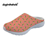 doginthehole Womens Clogs Sports Slippers Beautiful Birds Printing Sport Sandals Summer Female Beach Shoes for Women Lightweight