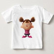 Детская футболка с принтом зомби Забавные футболки для девочек/мальчиков