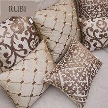 Cojines bordados de lujo europea cojines decorativos sin cojines decorativos sofá decoración funda interior Z5