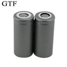 GTF 1PC 32650 LiFePO4 rechargeable battery 3.2V 6500mAh lithium For LED Flashlights Emergency lights Backup Power