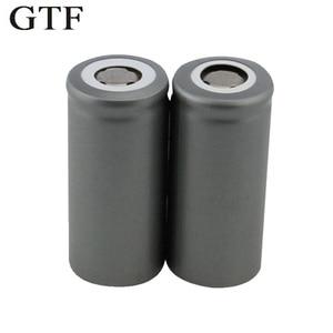GTF 1PC 32650 LiFePO4 rechargeable battery 3.2V 6500mAh lithium battery For LED Flashlights Emergency lights Backup Power