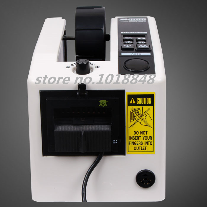 ФОТО 4pcs/Lot 110V/220V Automatic Tape Dispenser  M-1000 Packing Cutter Machine /CE