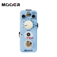 MOOER micro series @wah digital auto Wah Pedal high-quality electronic components Guitar effect pedal