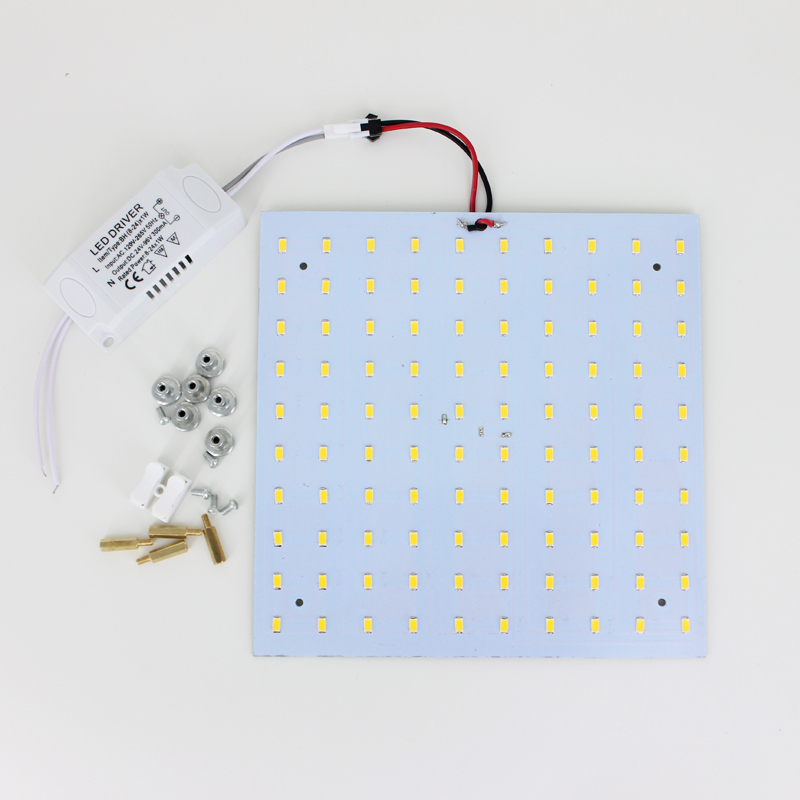 все цены на DIY 18W 180-265V Square Quadrate SMD5730 Magnetic LED Ceiling Light Bulb LED Panel Lamps for DIY онлайн