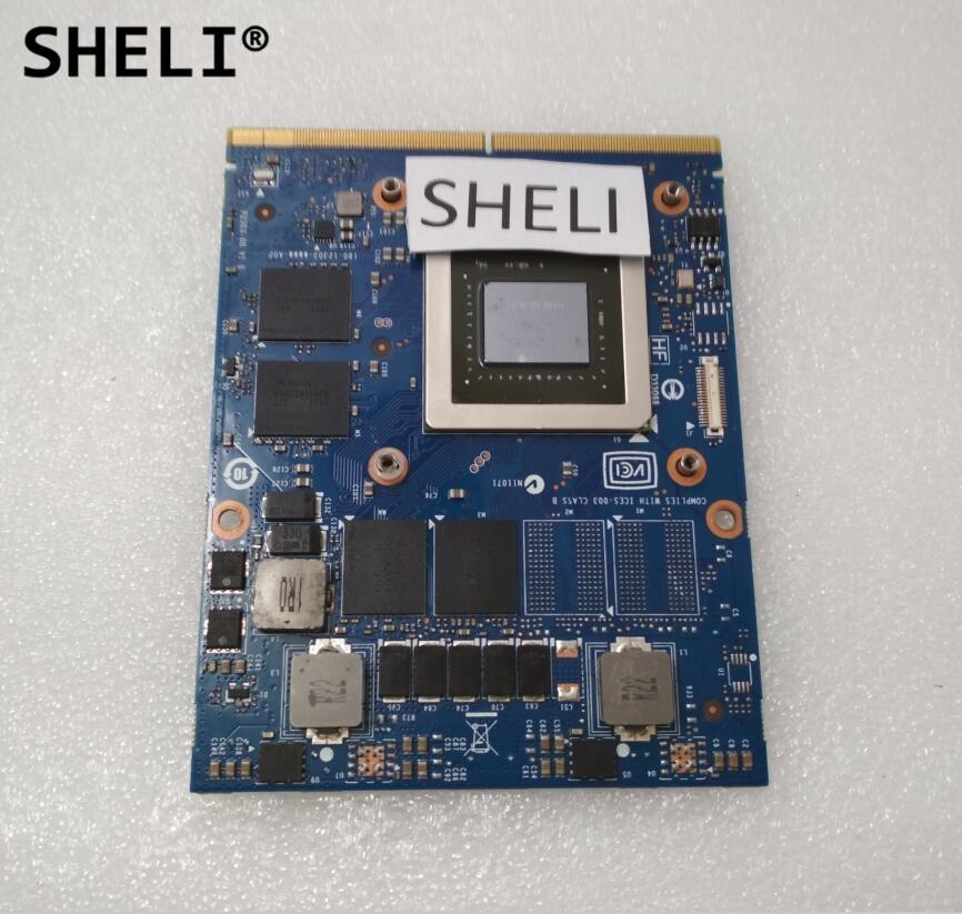 SHELI GTX 765M GTX765M 2GB Video Card MXM SLI for Dell M15X M17X M18X Laptop GTX 765 GTX765 Graphics Card N14E-GE-B-A1 CN-09R3F5 new original gtx 765m gtx765m 2gb video card for dell alienware m15x m17x m18x laptop gtx 765 gtx765 graphics card n14e ge b a1