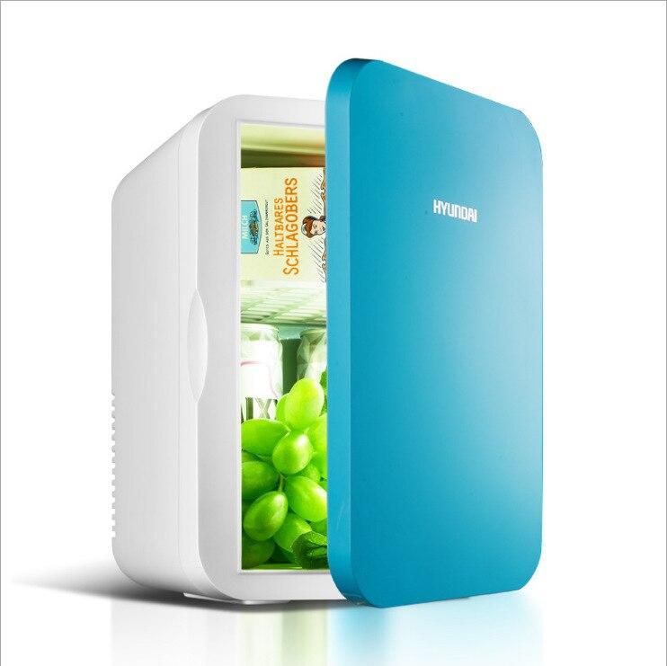 Box Cooler Box Portable Fridge Mini Fridges 6L Small Refrigerator Mini Household Car Refrigerator Car Home Dual-use Heating