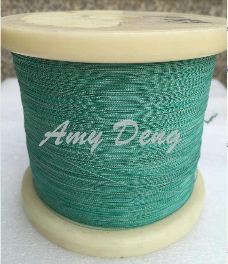 500 Meters/lot  0.07x7 Shares Many Stocks Of Natural Silk Covered Wire Copper Wire Is Sold By The Metre Litz Wire G
