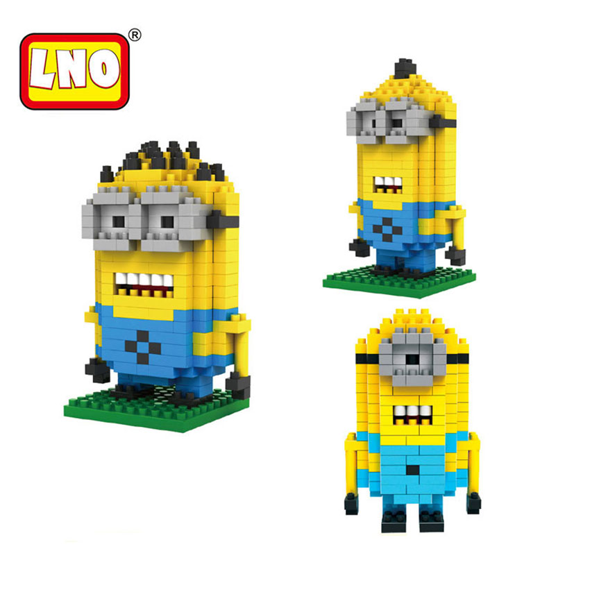 LNO Toys & Hobbies Building Blocks Micro Size Bricks Dave Stuart Time Action Figures 3D DIY Model Gift Educational Toys For Kids
