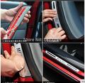 chrome stainless steel scuff plate door sill covers car styling auto accessories for Mitsubishi Outlander 2013-2014 2015 2016