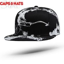 0e9a1ca1e95 2018 Summer Black Camouflage Casquette De Baseball Cap Bone Cool Punk  Hiphop Skateboard Snapback Camo Women Graffiti Mens Hats