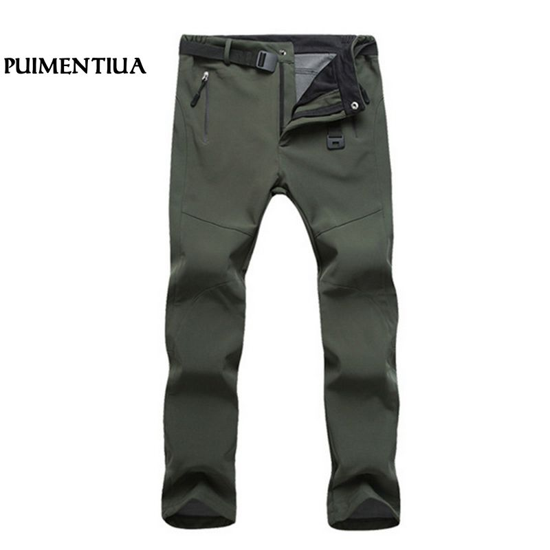 Pants Objective Hiking Pants Men Outdoor Softshell Pant Winter Trousers Waterproof Windproof Thermal For Camping Ski Climbing Puimentiua 37 Let Our Commodities Go To The World