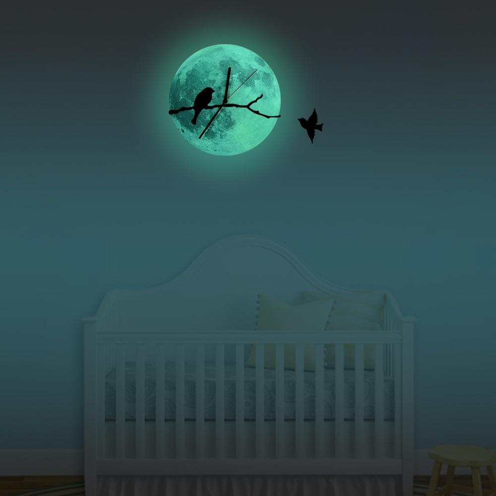 Popular Glowing Moon Clock Buy Cheap Glowing Moon Clock Lots From