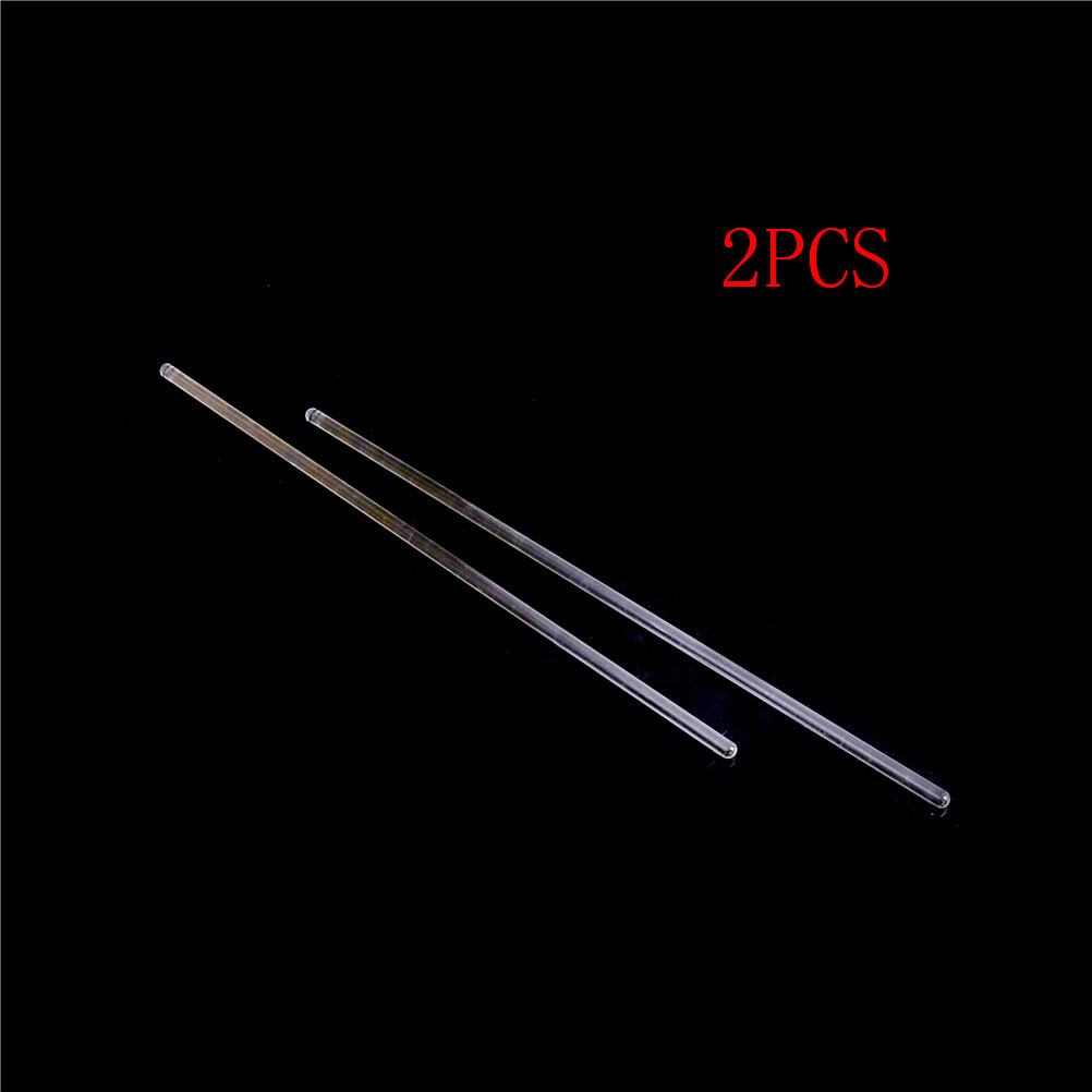 2pcs Lab Glass Stirring Rods 100/200/300mm Length Borosilicate High Resistant Stirrer For Chemistry Lab 6mm Diameter