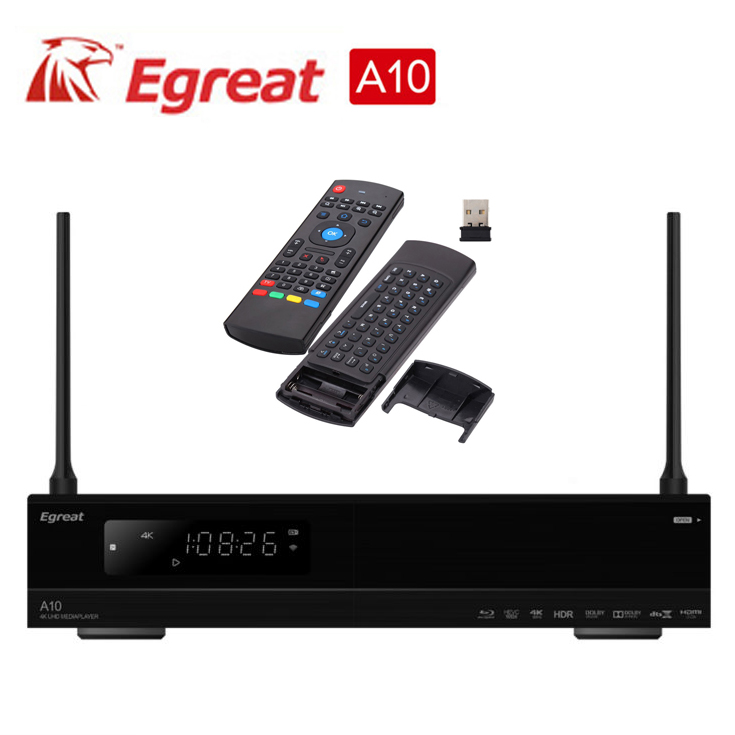 Air mouser +Egreat A10 4K UHD Media Player Hi3798CV200 2G ...