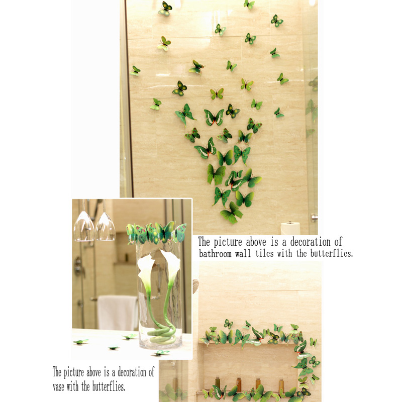 Art Design Decal Wall Stickers Home Decor Room Decorations Butterfly ...