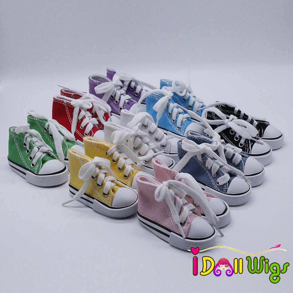 Canvas Lace Up Sneakers Shoes for 1/3
