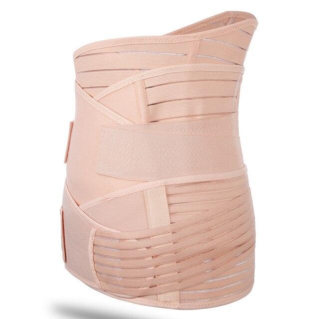 Waist Support Puerpera Belt Waist Trainer Shapers Slimming Belt Body Shapers Belt Sweat Sauna Fitness Corset Trimmer Girdle Belt 3