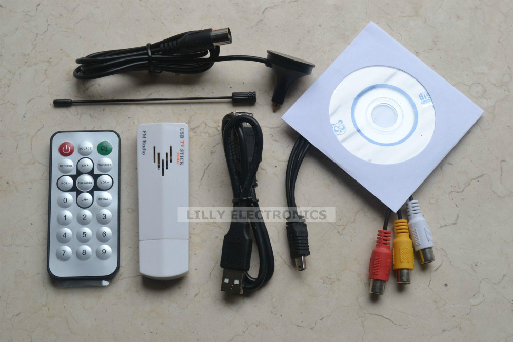 New USB 2.0 Analog Signal TV Receiver Adapter Tunner Box for Laptop PC pinnacle pctv analog pro usb