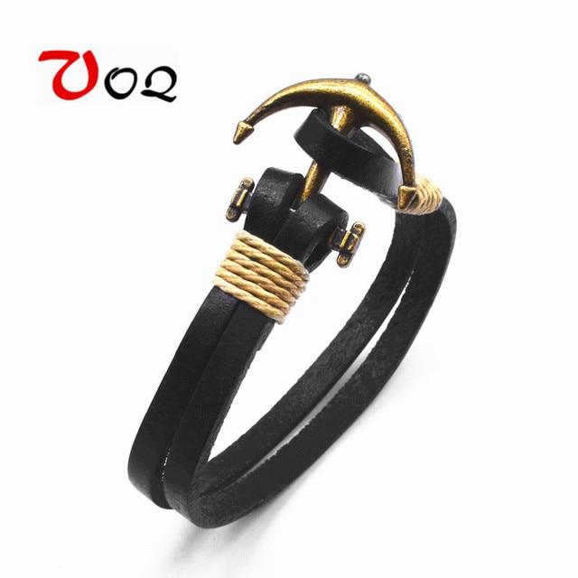 Aliexpress Com Buy 2018 Hot Sale Copper Alloy Anchor Bracelet Men