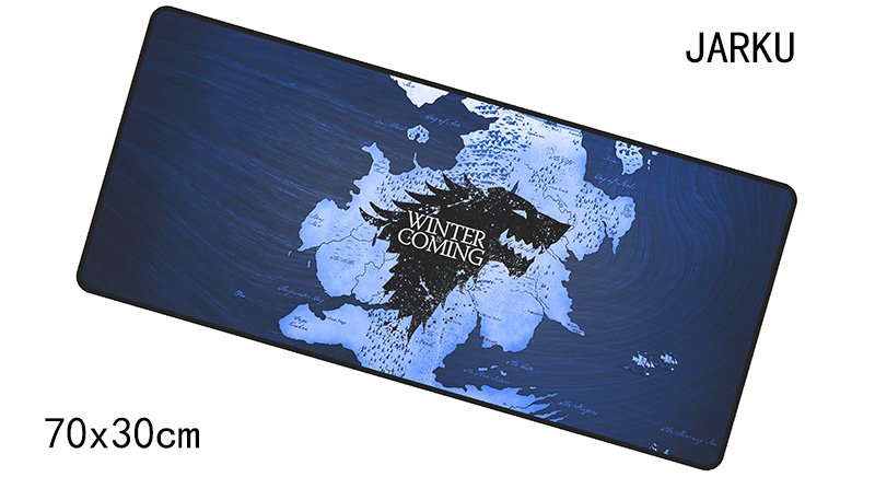 Game of Thrones padmouse 700x300x4mm gaming mousepad gamer mouse mat HD print pad keyboard computer mouse pad laptop play mats