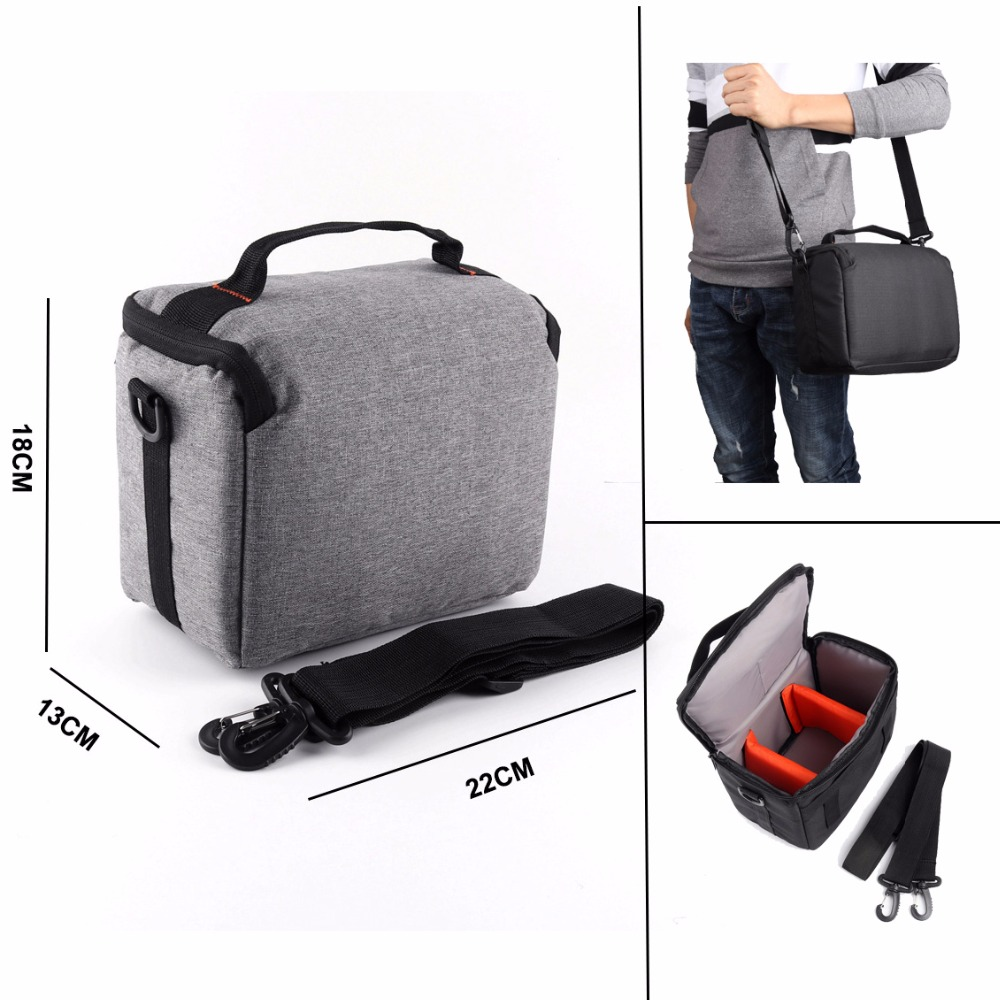 SLR Camera Bag For Canon EOS 100D 200D 1300D 1200D 1100D 800D 760D 750D 700D 80D 77D 70D 60Da 7D 6D 5Ds Shoulder Camera Case Bag