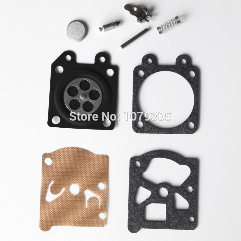 5 Sets Chainsaw 3800 4500 5200 5800 Carburetor Diaphragm Gasket Repair Kit