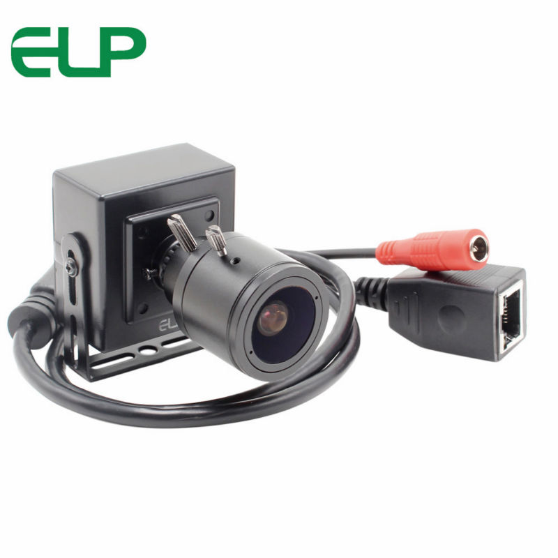 1280 * 720 2.8-12mm Varifocal Zoom Lens Security 1.0Megapixel Hd 720p HI3518C+OV9712 Mini Network Onvif Security IP Camera j47b as cameras do ip de hd apoiam hd 720p 1280 720 deteccao de movimento mascara da privacidade camera bala