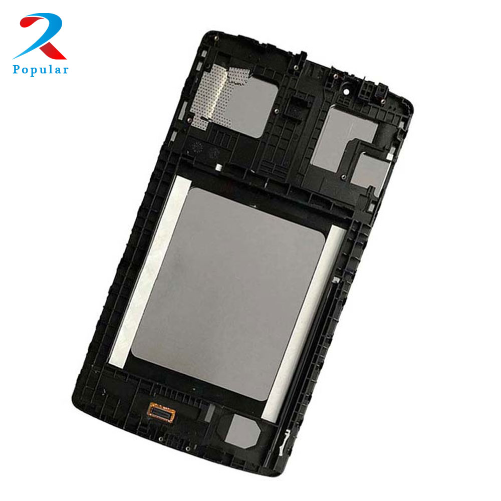 For LG G Pad 8.0 V480 V490 Full Touch Screen Digitizer Sensor Glass + LCD Display Panel Monitor Assembly With Frame Bezel for asus memo pad 7 me70c full lcd display screen panel monitor touch screen digitizer glass sensor assembly free shipping