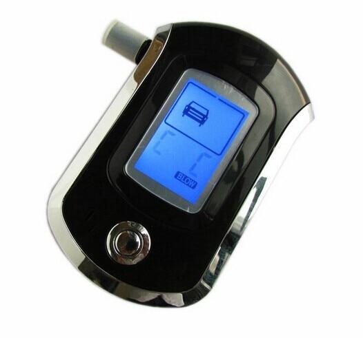 Alcoholímetro digital, analizador de soplado de respiración profesional, AT6000, prueba de Alcohol portátil, contenido BAC