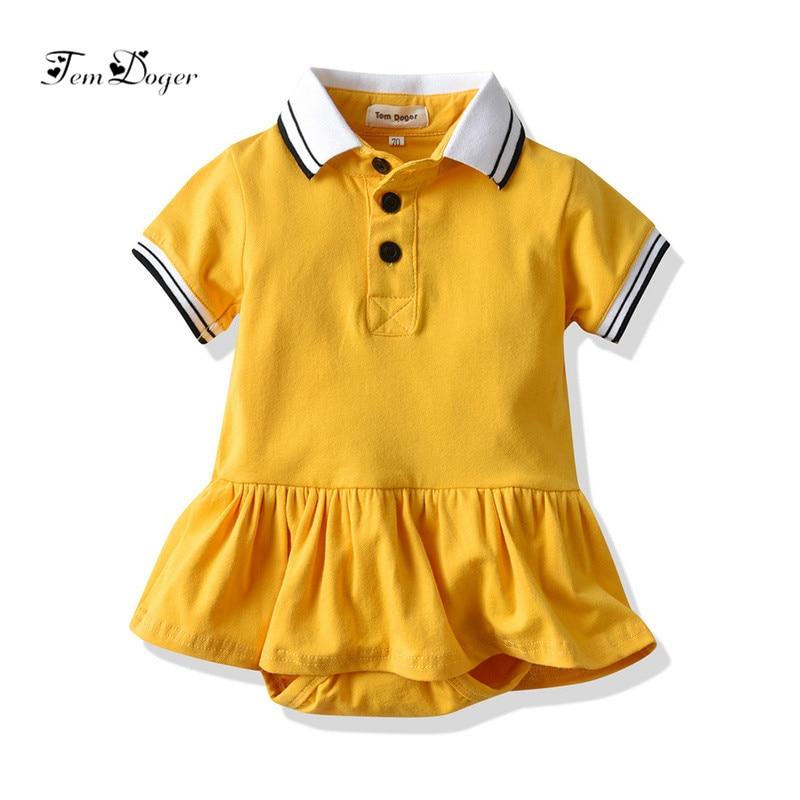 Casual Cotton Baby Girl Dress Infant Girls Summer V-neck Shorts Sleeve with Shorts Dress Newborns Girls Party Princess Vestidos