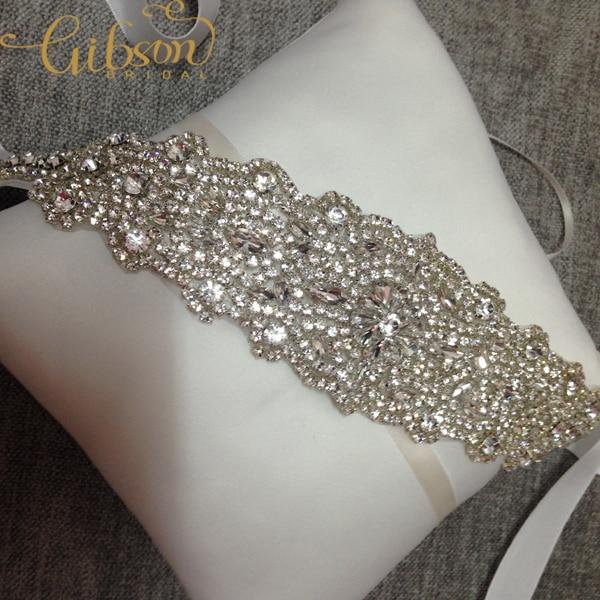 Image 2 - Бесплатная доставка, блестящий свадебный пояс с кристаллами и стразами, свадебные аксессуары из бисераbelt beadedwaist beltwedding belt accessories  АлиЭкспресс