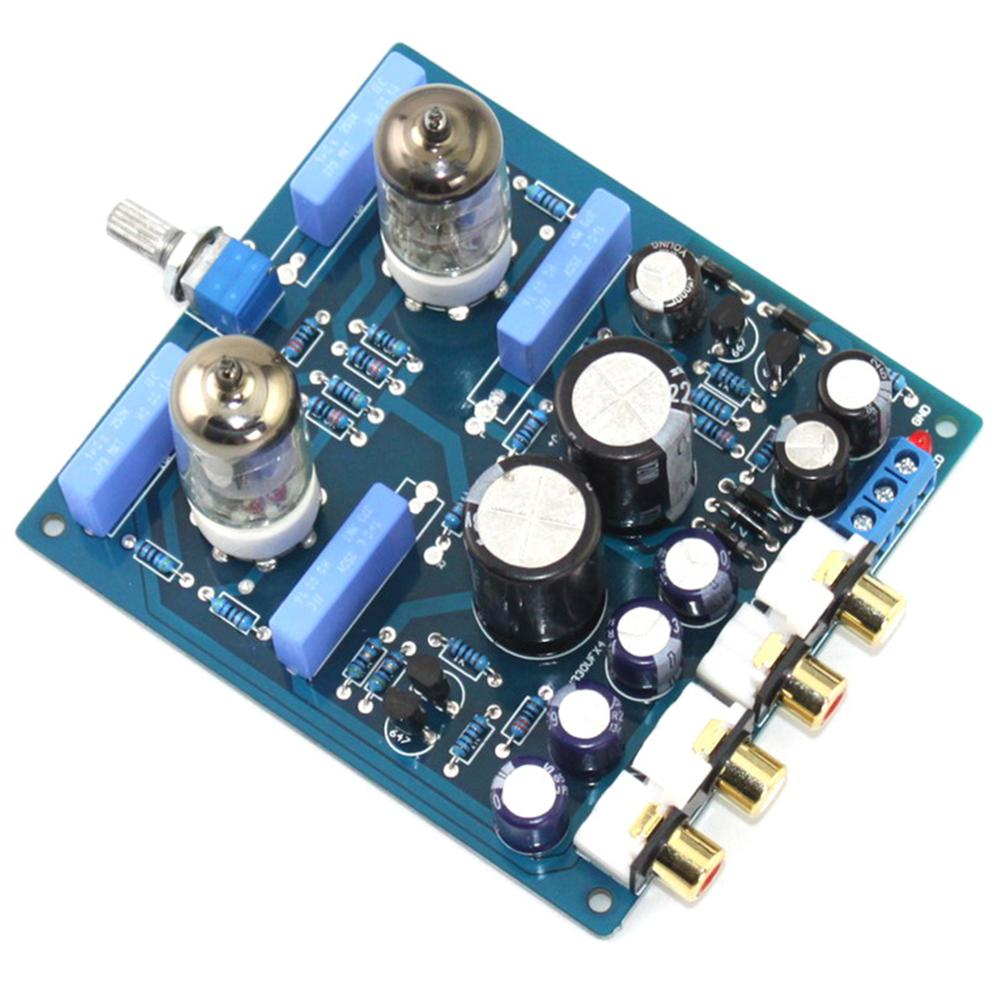 Image 2 - 6J1 2200UF/63V AC12V 0 AC12V 15W DIY Tube PreAmplifier Finished Board YJ0072-in Amplifier from Consumer Electronics