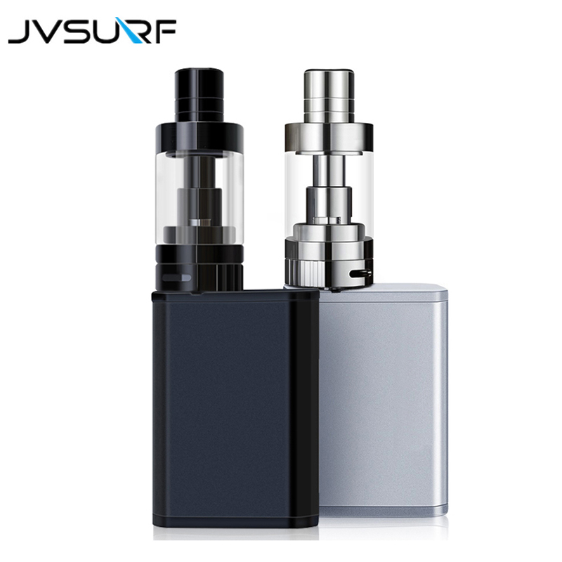 JVSURF Shisha Mod Box Pen Vape Kit 40W With 1500mah Battery Starter Kit Hookah Vaporizer Vapor Smoking Tobacco E-cigarette Tank