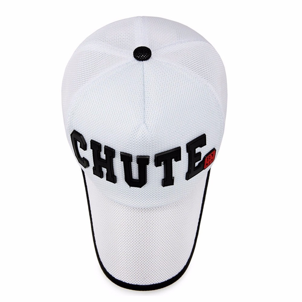 330c57d8df6 2018 Men Mesh Baseball Cap Summer Breathable Hats Youth Outdoor Sports Baseball  Hat White Drake Polo Caps Male Fishing Cap-in Baseball Caps from Apparel ...