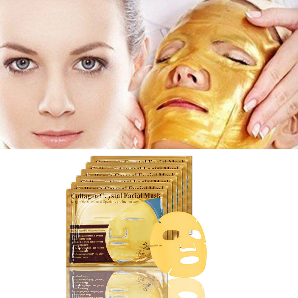 Gold Collagen Face Mask Cream Hydrating Facial Mask Whitening Anti-Aging Women Skin Care Beauty Products Active Treatment Skin Facial mask