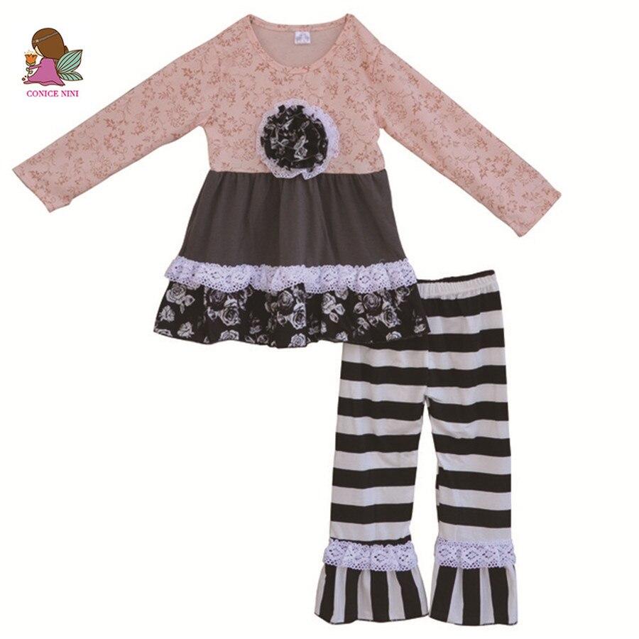 Комплект платье и брюки для девочки