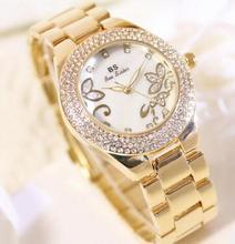 FA1228 Новая Мода женские часы Горный Хрусталь кварцевые часы relogio feminino женщины наручные часы платье мода часы reloj mujer