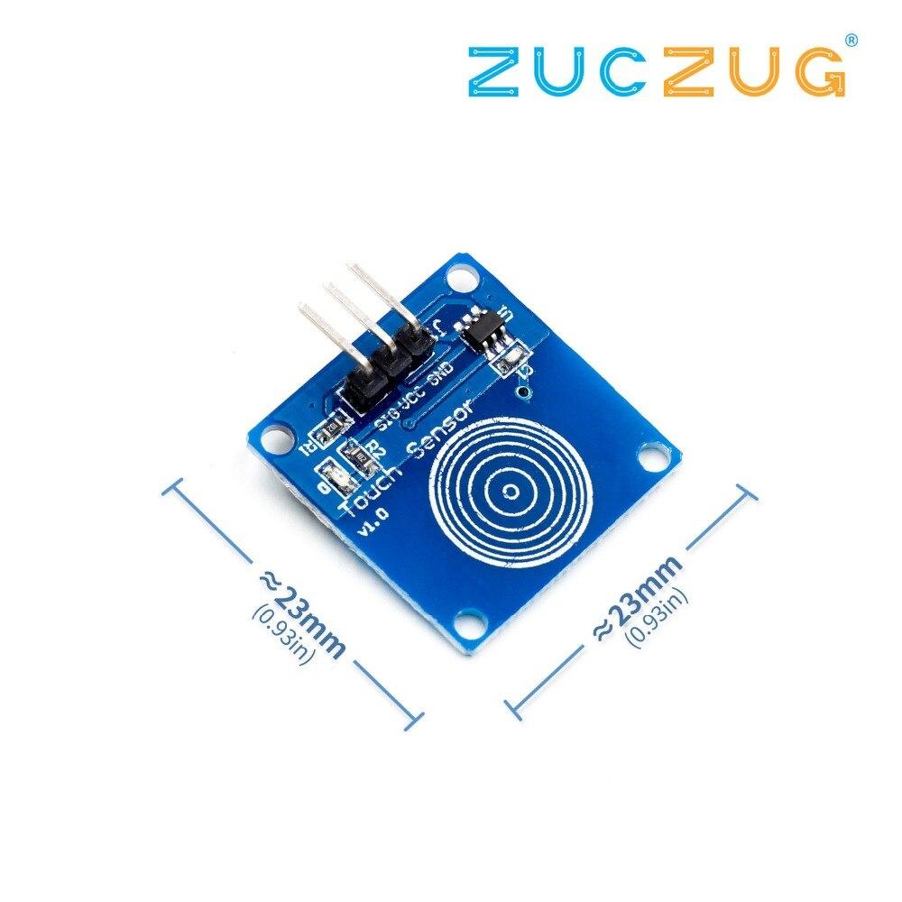 TTP223B Digital Touch Sensor Capacitive Switch Module for Raspberry Pi DIY
