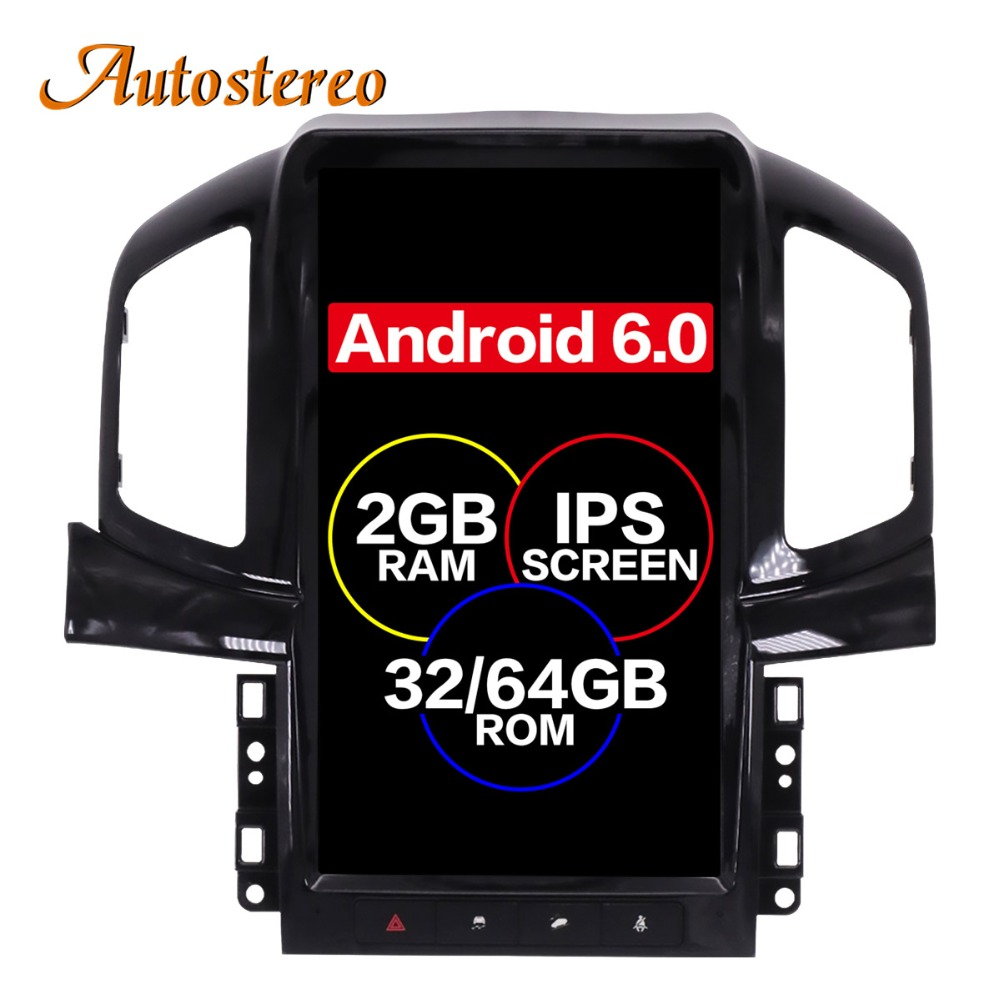 Android 6,0 Тесла стиль автомобиля без DVD плеер gps навигации для Chevrolet Captiva 2013 2014 2015 2017 2016 головного устройства мультимедиа плюс