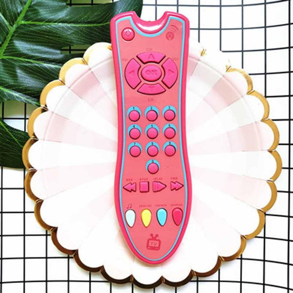 Mainan Bayi Musik Berwarna-warni Ponsel TV Remote Control Awal Pendidikan Mainan Listrik Signifikan Remote Learning Machine Mainan Hadiah