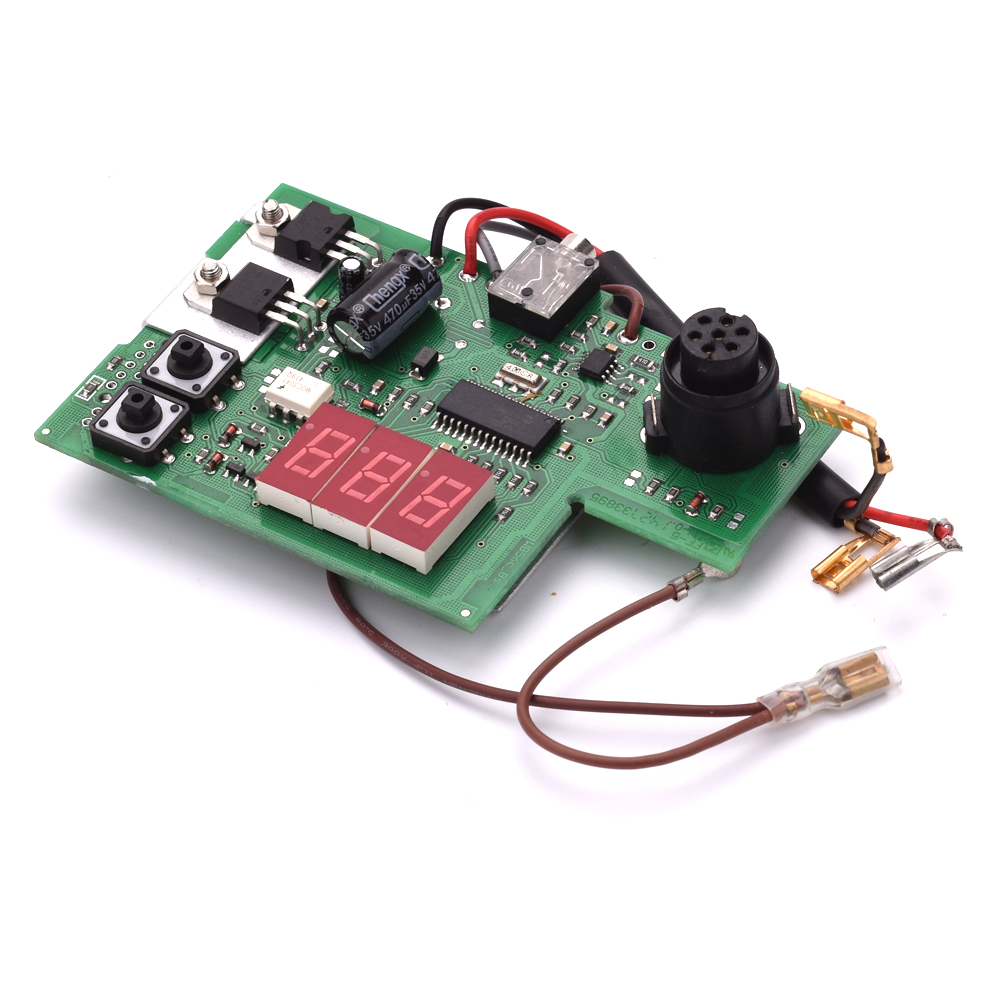 KNOKOO PCB control panel T0058748935 for WSD81 soldering station knokoo upper and lower case t0058748937 38 for wsd81 soldering station