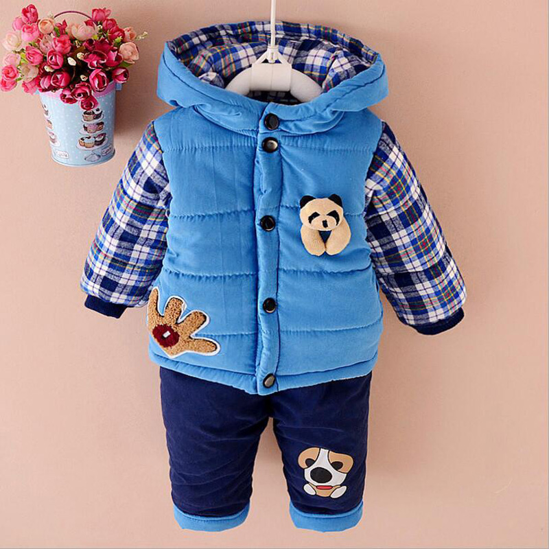 Newborn Baby Winter Clothing Set Kids Boys Coat Pants Suits Children Set Camouflage Clothes Boys Sport Suits Toddler Baby Sets 2018 sweatshirt kids clothing sets toddler baby boys clothes set winter warm children clothing set for boys cotton kids 2 piece